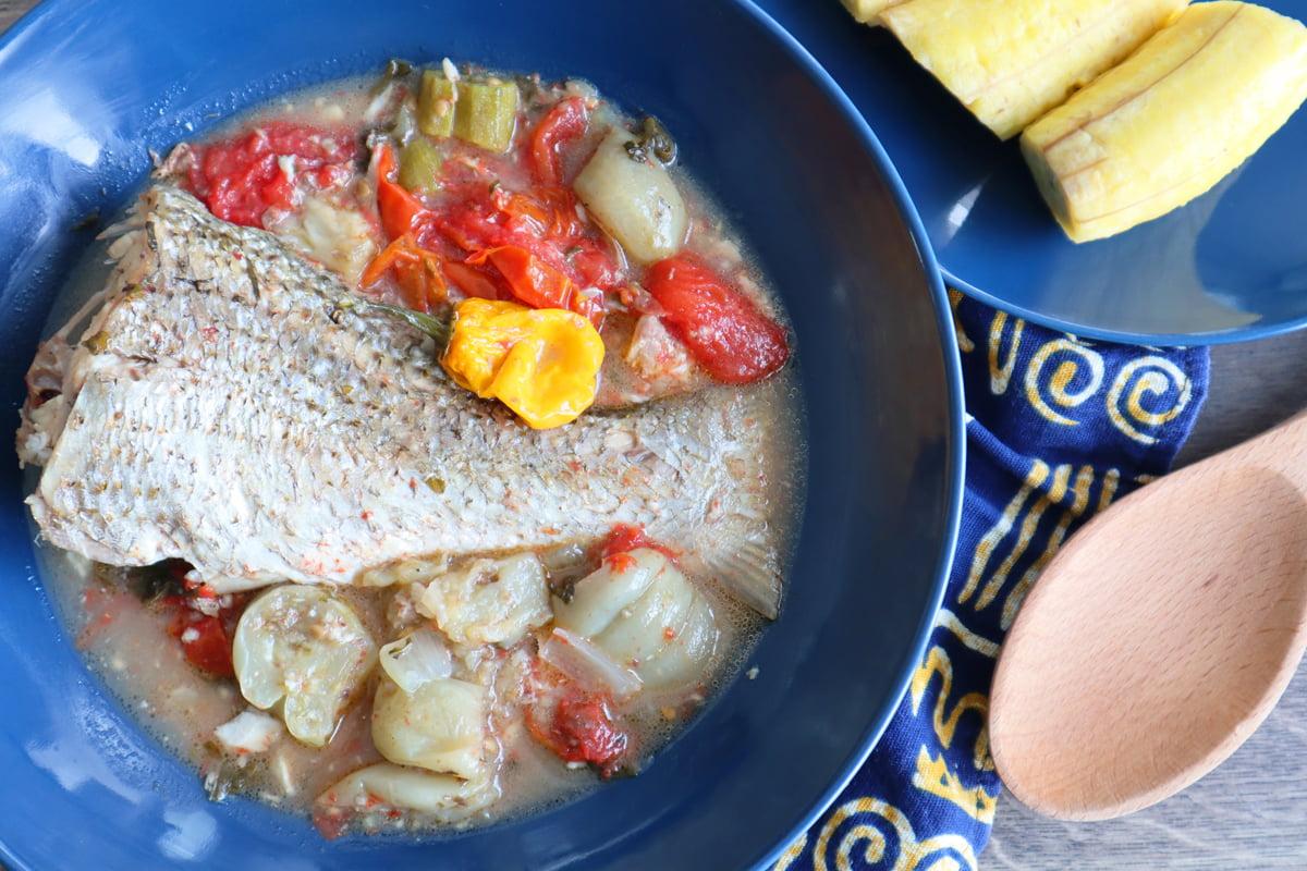 Bouillon de poisson à la Gabonaise