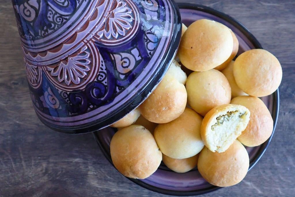 #LGDK : Petits pains farcis aux fromages